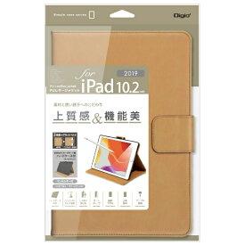 ナカバヤシ Nakabayashi 10.2インチ iPad(第7世代)用 PUレザージャケット TBC-IP1908CA キャメル