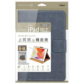 ナカバヤシ Nakabayashi 10.2インチ iPad(第7世代)用 PUレザージャケット TBC-IP1908NB ネイビー