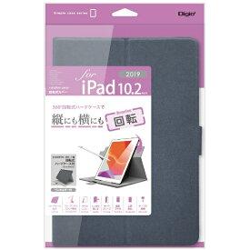 ナカバヤシ Nakabayashi 10.2インチ iPad(第7世代)用 軽量回転式カバー TBC-IP1909BL ブルー