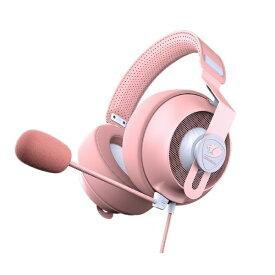 COUGAR クーガー CGR-P53NP-510 ゲーミングヘッドセット PHONTUM S PINK ピンク [φ3.5mmミニプラグ /両耳 /ヘッドバンドタイプ][CGRP53NP510]