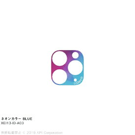 アピロス apeiros is Deco ネオンカラー BLUE for iPhone 11 Pro/ 11 Pro Max EYLE XEI13-ID-A03