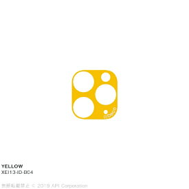 アピロス apeiros is Deco YELLOW for iPhone 11 Pro/ 11 Pro Max EYLE XEI13-ID-B04