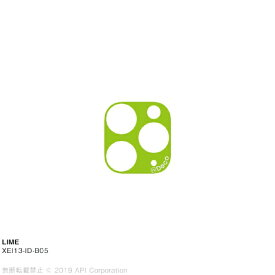 アピロス apeiros is Deco LIME for iPhone 11 Pro/ 11 Pro Max EYLE XEI13-ID-B05