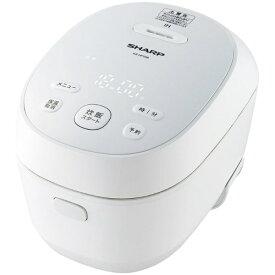 シャープ SHARP KS-HF05B-W 炊飯器 PLAINLY ホワイト系 [3合 /IH][KSHF05B]