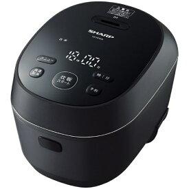 シャープ SHARP KS-HF05B-B 炊飯器 PLAINLY ブラック系 [3合 /IH][KSHF05B]