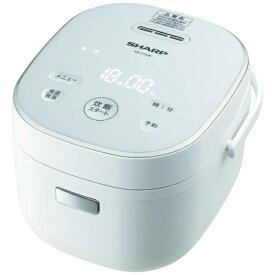 シャープ SHARP KS-CF05B-W 炊飯器 ホワイト系 [3合 /マイコン][KSCF05B]