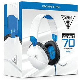 TURTLE BEACH タートルビーチ RECON 70P マルチプラットフォーム対応ヘッドセット ホワイト TBS-3455-01【PS4/Switch/Xbox One】
