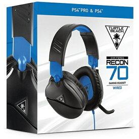 TURTLE BEACH タートルビーチ RECON 70P マルチプラットフォーム対応ヘッドセット ブラック TBS-3555-01【PS4/Switch/Xbox One】