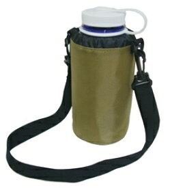 ナルゲン ボトルケース ショルダーベルト付き 1.0L(広口1.0L、細口1.0L用/カーキ) 92356