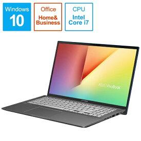 ASUS エイスース S531FA-BQ229TS Office搭載ノートパソコン VivoBook S15 ガンメタル [15.6型 /intel Core i7 /HDD:1TB /SSD:512GB /メモリ:16GB /2019年12月モデル][15.6インチ office付き 新品 windows10]