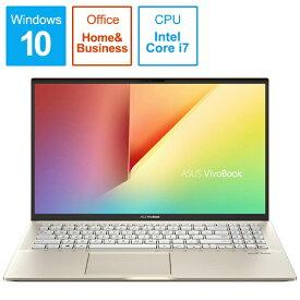 ASUS エイスース S531FA-BQ230TS Office搭載ノートパソコン VivoBook S15 モスグリーン [15.6型 /intel Core i7 /HDD:1TB /SSD:512GB /メモリ:16GB /2019年12月モデル][S531FABQ230TS]