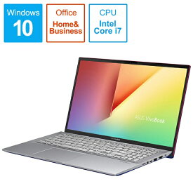 ASUS エイスース S531FA-BQ212TS Office搭載ノートパソコン VivoBook S15 コバルトブルー [15.6型 /intel Core i7 /HDD:1TB /SSD:512GB /メモリ:16GB /2019年12月モデル][S531FABQ212TS]