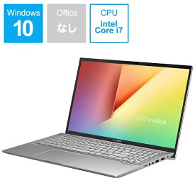 ASUS エイスース S531FA-BQ228T ノートパソコン VivoBook S15 トランスペアレントシルバー [15.6型 /intel Core i7 /HDD:1TB /SSD:512GB /メモリ:16GB /2019年12月モデル][S531FABQ228T]