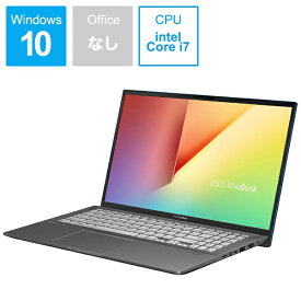 ASUS エイスース S531FA-BQ229T ノートパソコン VivoBook S15 ガンメタル [15.6型 /intel Core i7 /HDD:1TB /SSD:512GB /メモリ:16GB /2019年12月モデル][S531FABQ229T]