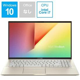 ASUS エイスース S531FA-BQ230T ノートパソコン VivoBook S15 モスグリーン [15.6型 /intel Core i7 /HDD:1TB /SSD:512GB /メモリ:16GB /2019年12月モデル][S531FABQ230T]