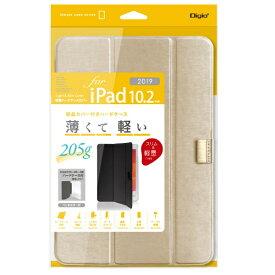 ナカバヤシ Nakabayashi 10.2インチ iPad(第7世代)用 軽量ハードケースカバー ゴールド TBC-IP1900GL