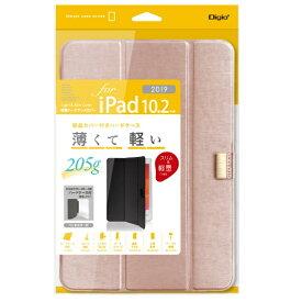 ナカバヤシ Nakabayashi 10.2インチ iPad(第7世代)用 軽量ハードケースカバー ピンク TBC-IP1900P