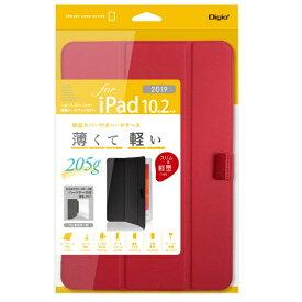 ナカバヤシ Nakabayashi 10.2インチ iPad(第7世代)用 軽量ハードケースカバー レッド TBC-IP1900R
