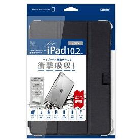 ナカバヤシ Nakabayashi 10.2インチ iPad(第7世代)用 衝撃吸収ケース ブラック TBC-IP1902BK