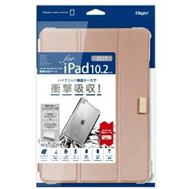 ナカバヤシ Nakabayashi 10.2インチ iPad(第7世代)用 衝撃吸収ケース ピンク TBC-IP1902P