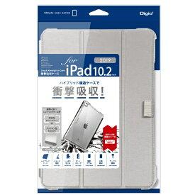 ナカバヤシ Nakabayashi 10.2インチ iPad(第7世代)用 衝撃吸収ケース シルバー TBC-IP1902SL