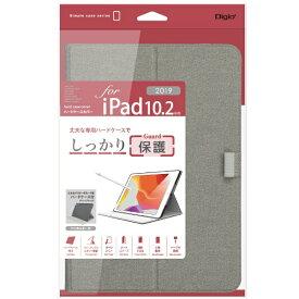 ナカバヤシ Nakabayashi 10.2インチ iPad(第7世代)用 軽量ハードケースカバー グレー TBC-IP1907GY