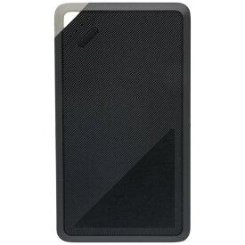 OWLTECH オウルテック 6000mAhモバイルバッテリー 残量確認LED かしこく充電 入出力USB Type-Cポート付き ブラック OWL-LPB6006-BK