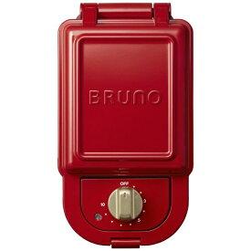 イデアインターナショナル IDEA INTERNATIONAL BOE043RD ホットサンドメーカー シングル BRUNO レッド[BOE043]