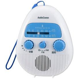 オーム電機 OHM ELECTRIC RAD-S778Z シャワーラジオ [防滴ラジオ /AM/FM /ワイドFM対応][RADS778Z]