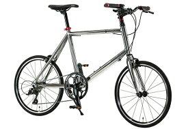 ルノー RENAULT 20型 自転車 MAGNESIUM8 minivelo マグネシウム8 ミニベロ(メタリックシルバー/外装9段変速) 61506-09【2020年モデル】【組立商品につき返品不可】 【代金引換配送不可】