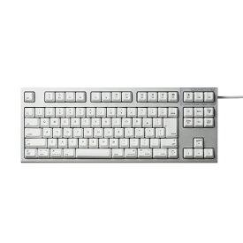 東プレ Topre R2TLSA-JP3M-WH キーボード REALFORCE TKL SA for Mac シルバー / ホワイト [USB /有線][R2TLSAJP3MWH]