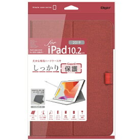 ナカバヤシ Nakabayashi 10.2インチ iPad(第7世代)用 軽量ハードケースカバー レッド TBC-IP1907R