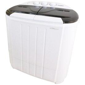 サンコー THANKO 小型二槽式洗濯機 別洗いしま専科3 STTWAMN3 [洗濯3.6kg /上開き][洗濯機 小型 一人暮らし]