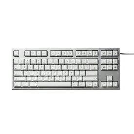 東プレ Topre キーボード REALFORCE TKL for Mac シルバー / ホワイト R2TL-USVM-WH [有線 /USB][R2TLUSVMWH]