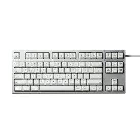 東プレ Topre R2TLSA-US3M-WH キーボード REALFORCE TKL SA for Mac シルバー / ホワイト [USB /有線][R2TLSAUS3MWH]