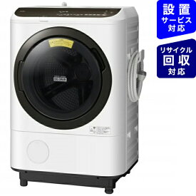 日立 HITACHI BD-NBK120EL-W ドラム式洗濯乾燥機 ホワイト [洗濯12.0kg /乾燥6.0kg /ヒーター乾燥 /左開き][洗濯機 12kg][BDNBK120EL]【point_rb】