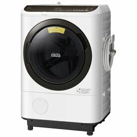 日立 HITACHI BD-NBK120ER-W ドラム式洗濯乾燥機 ホワイト [洗濯12.0kg /乾燥6.0kg /ヒーター乾燥 /右開き][洗濯機 12kg][BDNBK120ER]【point_rb】