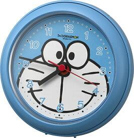 リズム時計 RHYTHM 掛け時計 強化防滴・防塵型 掛置兼用 バスクロック アイムドラえもん 青 4KG716DR04