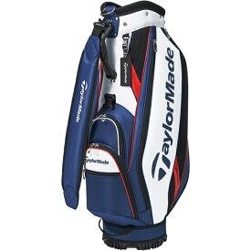 テーラーメイドゴルフ Taylor Made Golf 軽量 キャディバック TRUE-LITE トゥルーライト(9型/ホワイト×ネイビー×レッド)M72303