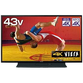 パナソニック Panasonic 液晶テレビ HDD&BDドライブ内蔵VIERA(ビエラ) TH-43GR770 [43V型 /ブルーレイ内蔵 /4K対応 /BS・CS 4Kチューナー内蔵 /YouTube対応][テレビ 43型 43インチ][TH43GR770]