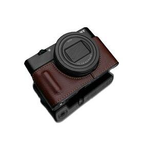 GARIZ ゲリズ SONY RX100 VII 用 本革カメラケース ブラウン HG-RX100M7BR