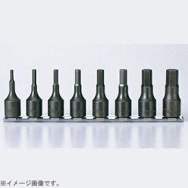 山下工業研究所 KO-KEN TOOL RS3012A/8-L52 3/8インチ(9.5mm) ヘックスビットソケットレールセット 全長52mm 8pc RS3012A/8L52