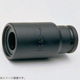 山下工業研究所 KO-KEN TOOL BD008N.165-19 1/4インチ(6.35mm)H ロングソケット 全長165mm 19mm BD008N.165-19