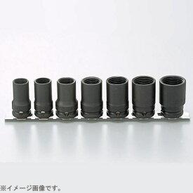 山下工業研究所 KO-KEN TOOL RS14124/7 1/2インチ(12.7mm) インパクトロックナットバスターレールセット 7pc RS14124/7