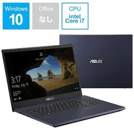 ASUS エイスース X571GD-AL401T ノートパソコン ASUS X571GD スターブラック [15.6型 /intel Core i7 /Optane:32GB /SSD:512GB /メモリ:8GB /2019年12月モデル][X571GDAL401T]