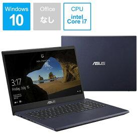 ASUS エイスース X571GT-AL280T ノートパソコン ASUS X571GT スターブラック [15.6型 /intel Core i7 /Optane:32GB /SSD:512GB /メモリ:16GB /2019年12月モデル][X571GTAL280T]