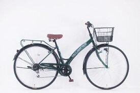 サイモト自転車 SAIMOTO 27型 自転車 ダカラットノエル(フォレストグリーン/外装6段変速)【2020年モデル】【組立商品につき返品不可】 【代金引換配送不可】