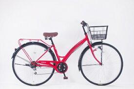 サイモト自転車 SAIMOTO 27型 自転車 ダカラットノエル(カーディナルレッド/外装6段変速)【2020年モデル】【組立商品につき返品不可】 【代金引換配送不可】