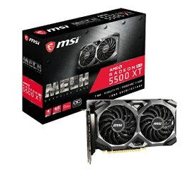 MSI エムエスアイ グラフィックボード RADEON RX 5500 XT MECH 4G OC [4GB /Radeon RXシリーズ][RADEONRX5500XTMECH4G]