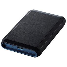 エレコム ELECOM ESD-EG0500GBUR 外付けSSD USB-A接続 PS4対応 ブルー [ポータブル型 /500GB][ESDEG0500GBUR]